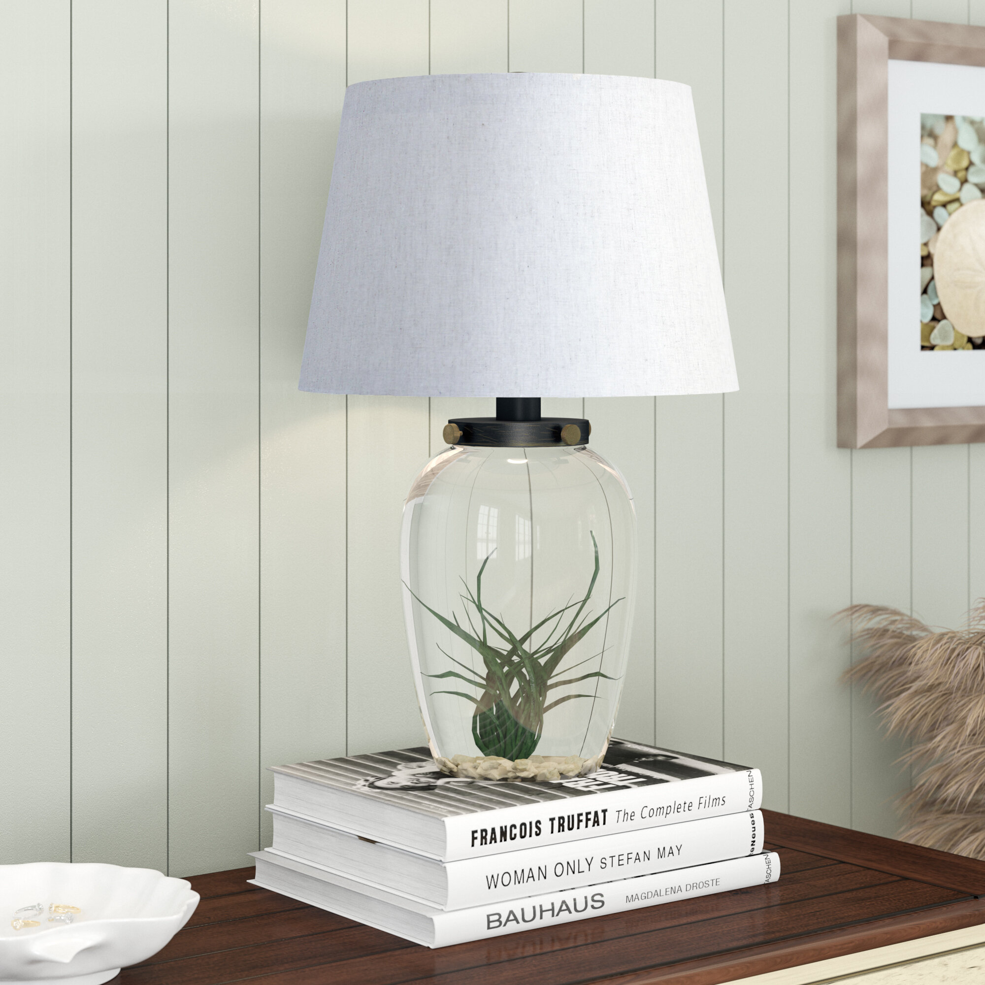 Nation Glass Table Lamp Reviews Birch Lane