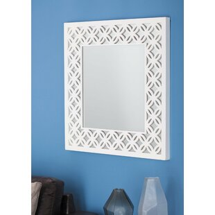 Compare prices Wood Wall Mirror By Cole & Grey