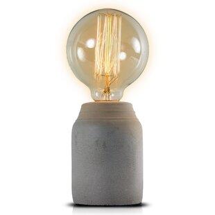edison bulb desk lamp lamp glass upland 9 modern contemporary edison bulb table lamp allmodern
