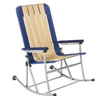 Jacquelyn Folding Rocking Beach Chair