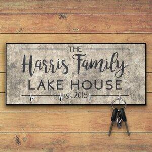 Personalized Lake House Key Hooks
