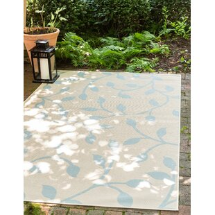 Kindig Beige Indoor/Outdoor Area Rug