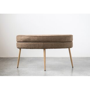 Weisinger Upholstered Ottoman by Union Rustic