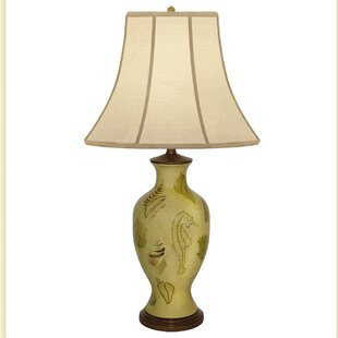 Pelomino Shell Hand Painted Porcelain 32 Table Lamp