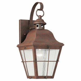 Clearance Fullerton Outdoor Wall Lantern By Longshore Tides