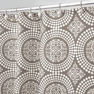 Best Reviews Medallion Shower Curtain By InterDesign