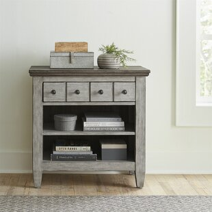 Goshen 1 Drawer Nightstand by Gracie Oaks