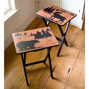 Wilderness TV Tray Table (Set of 2) by Plow & Hearth