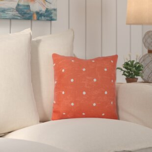 Asha Dorothy Dot Geometric Outdoor Throw Pillow