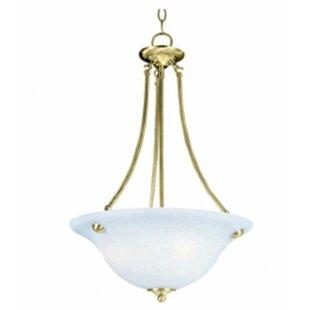 Canty 3-Light Bowl Pendant