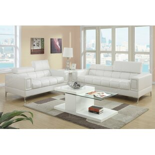 White Living Room Sets - Modern & Contemporary Designs | AllModern
