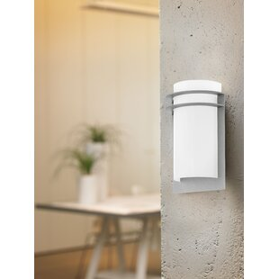 Online Reviews Largent 2-Light LED Outdoor Flush Mount By Latitude Run