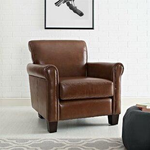 Save & Leather Cigar Chair | Wayfair.ca