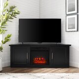 Kilroy TV Stand for TVs up to 60 with Electric Fireplace Included by Red Barrel Studio®