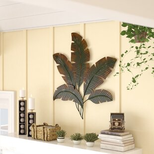 Palm Tree Leaves Wall Décor