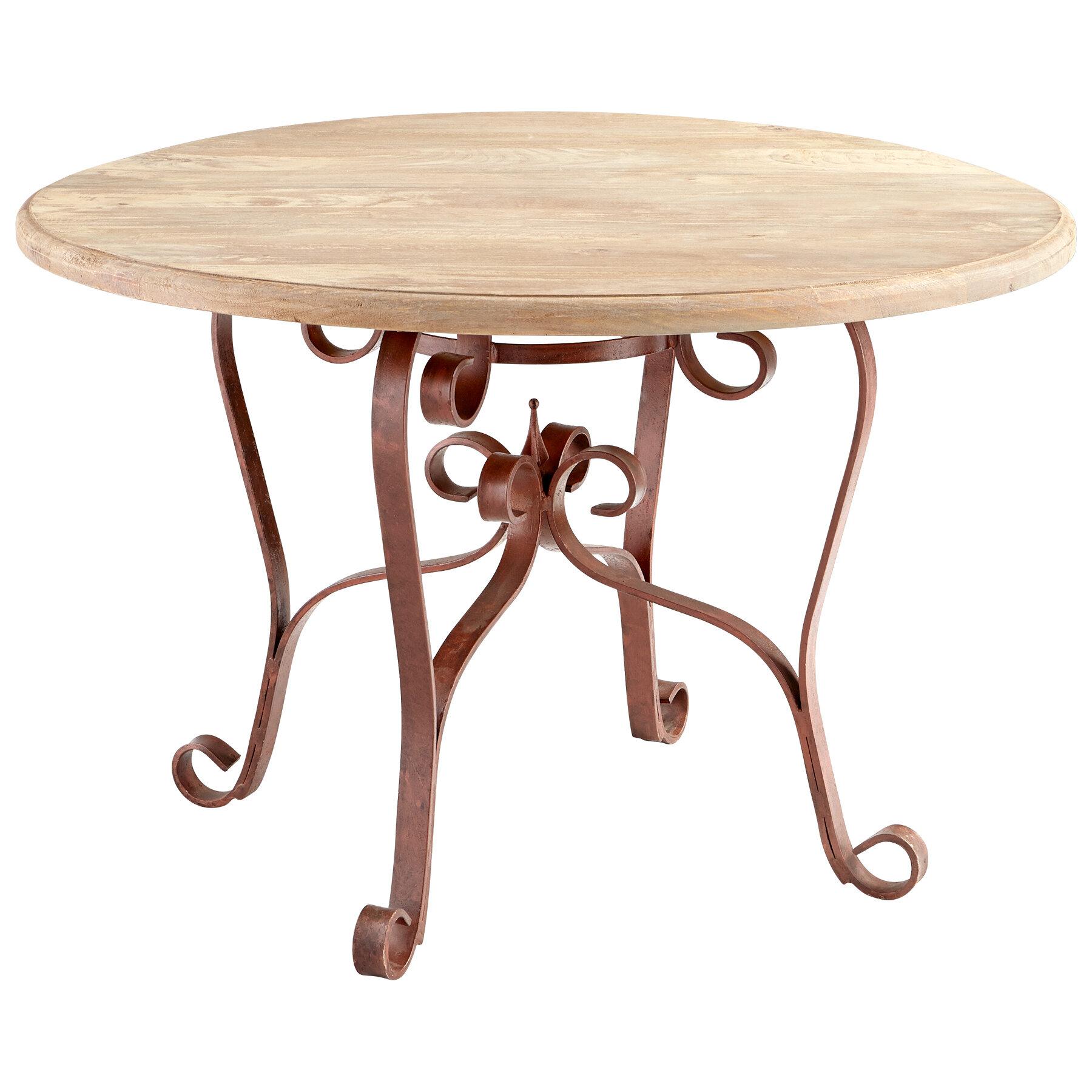 Cyan Design Victorian Iron Coffee Table Wayfair