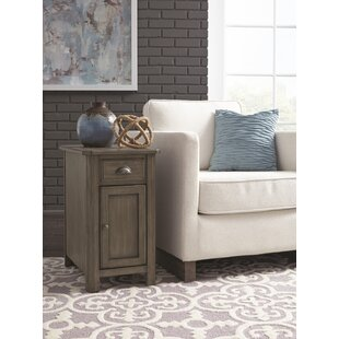 Fernville End Table with Storage