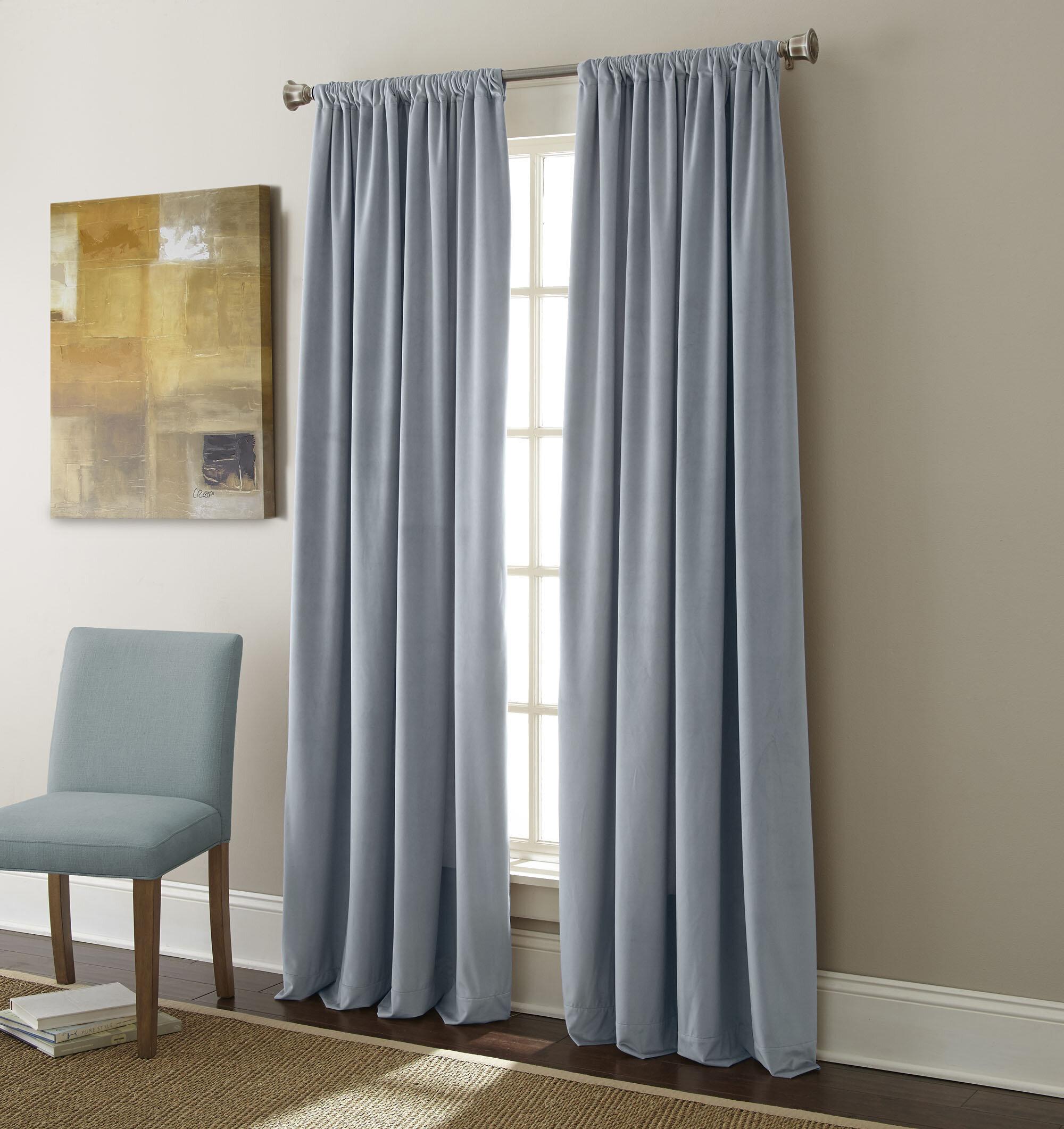 kitchen half curtain x com drapes signature amazon panels burgundy blackout vpch price velvet home dp
