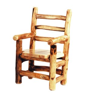 Hilary Solid Wood Dining Chair Loon Peak