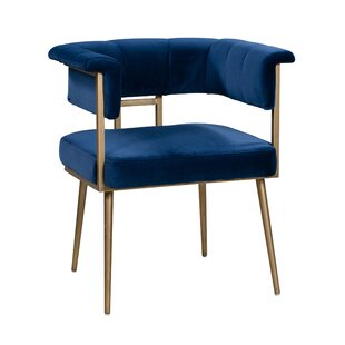 Titan Velvet Upholstered Dining Chair