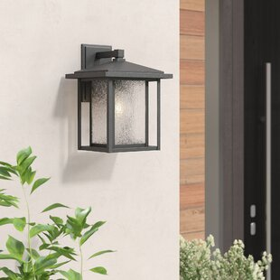 Shop for Hungate 1-Light Outdoor Wall Lantern By Bloomsbury Market