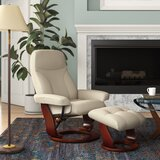 Monroe Manual Swivel Recliner with Ottoman by Red Barrel Studio®
