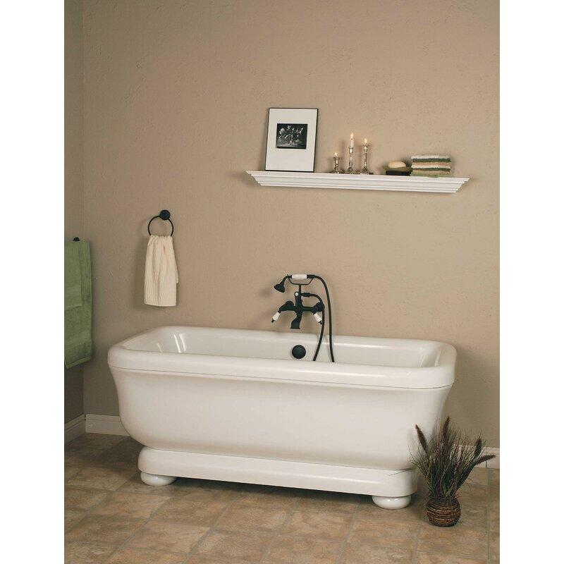 Strom Living Windemere 70 X 34 Pedestal Soaking Bathtub Wayfair
