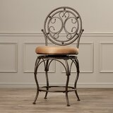 Darlington Swivel Bar & Counter Stool by Fleur De Lis Living