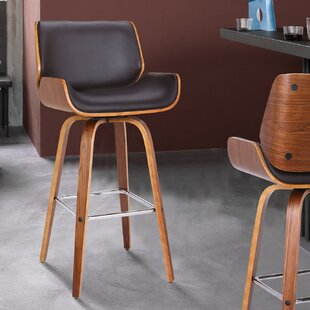 Oakham 30 Swivel Bar Stool George Oliver