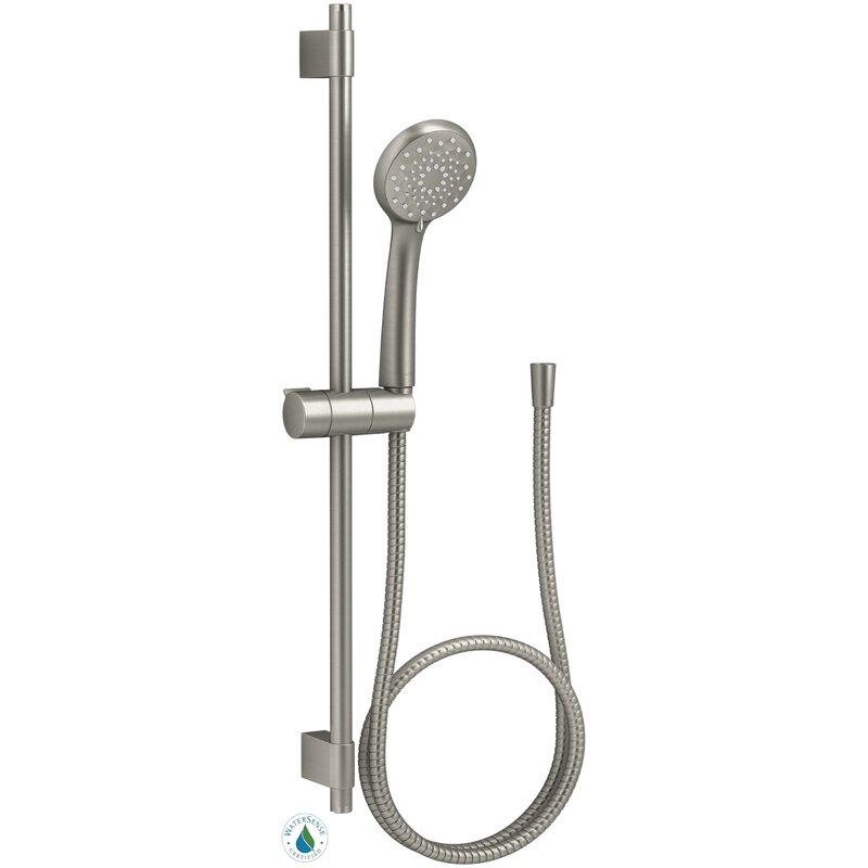 K 98362 Cp Bn Kohler Awaken B90 Multi Function Handheld Shower