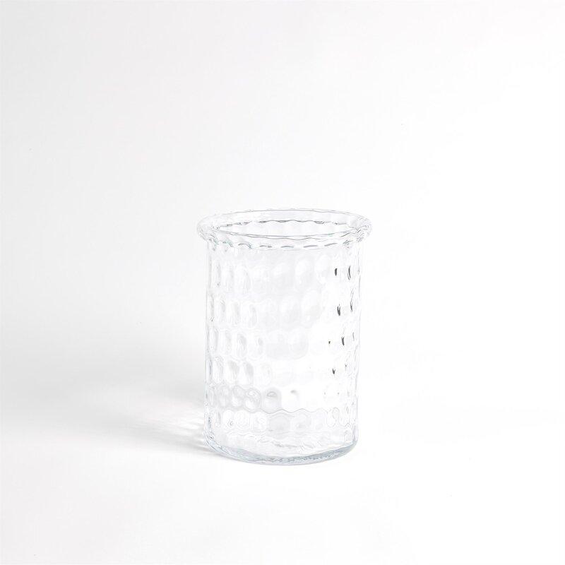 Global Views Honeycomb Glass Tabletop Hurricane Wayfair