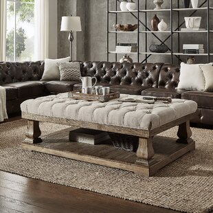 Coffee Table Ottoman.Tufted Coffee Table Wayfair