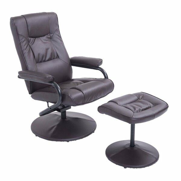 Fabulous Recliner Ottoman Set Wayfair Pabps2019 Chair Design Images Pabps2019Com
