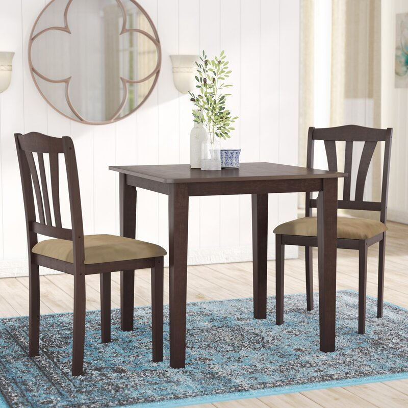Charming Dinah 3 Piece Dining Set