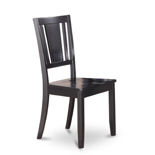 Dudley Solid Wood Dining Chair (Set of 2)
