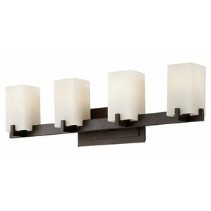 Bathroom Light Fixtures Oil Rubbed Bronze oil rubbed bronze bathroom vanity lighting | wayfair