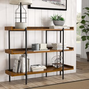 Parker Modern Etagere Bookcase by Modern Rustic Interiors