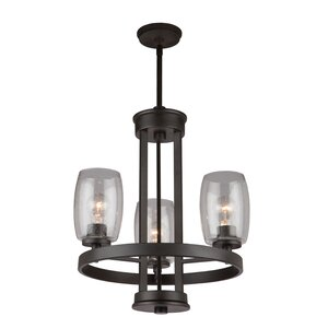 Nelly 3-Light Candle-Style Chandelier