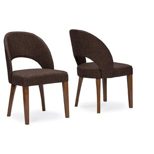 Seng Timeless Upholstered Dining Chair (Set of 2) Ivy Bronx