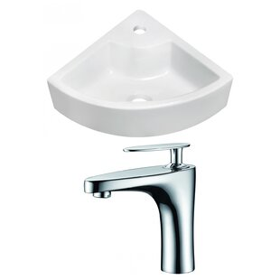 Compare & Buy Above Counter Ceramic Specialty Vessel Bathroom Sink with Faucet By Royal Purple Bath Kitchen