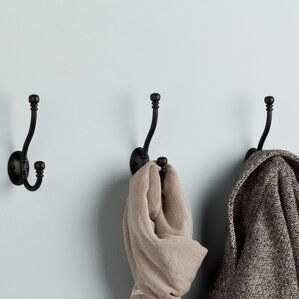 Ball End Coat and Hat Wall Hook (Set of 5)