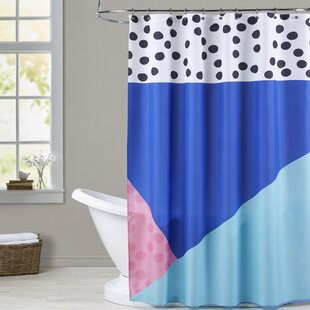 Ashlee Rae Dotti Two Single Shower Curtain