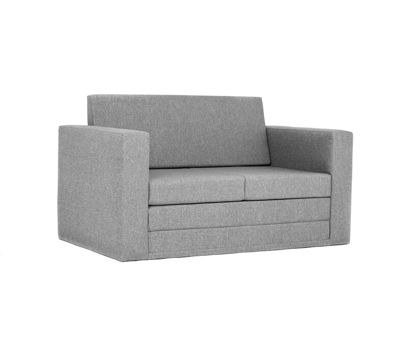 Out Of Stock Furniture: 17 Stories Spangler 2 Seater Fold Out Sofa Bed