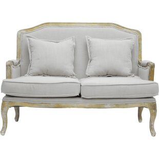 Milieu Classic French Loveseat
