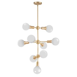 Godbey 9-Light Sputnik Chandelier