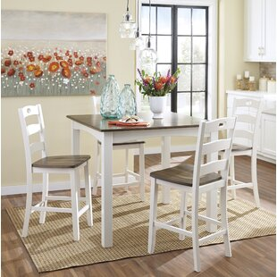 Mccormick 5 Piece Counter Height Dining Set by August Grove Savings