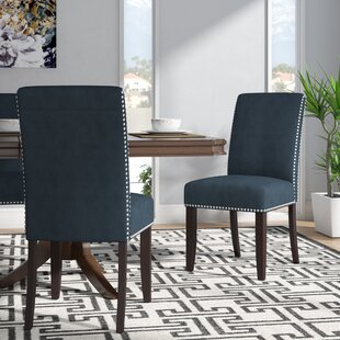 Brucedale Upholstered Dining Chair (Set of 2) Willa Arlo Interiors