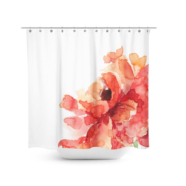 Best Home Fashion Inc Flower Shower Curtain