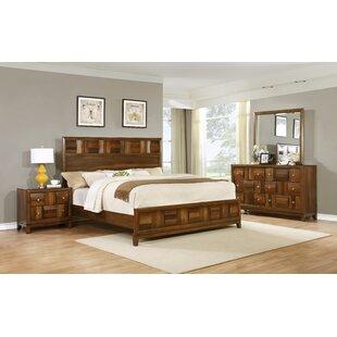 Calais Panel 4 Piece Bedroom Set