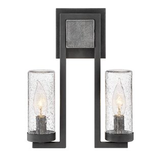 Best Reviews Sawyer 2 Light Outdoor Sconce By Hinkley Lighting